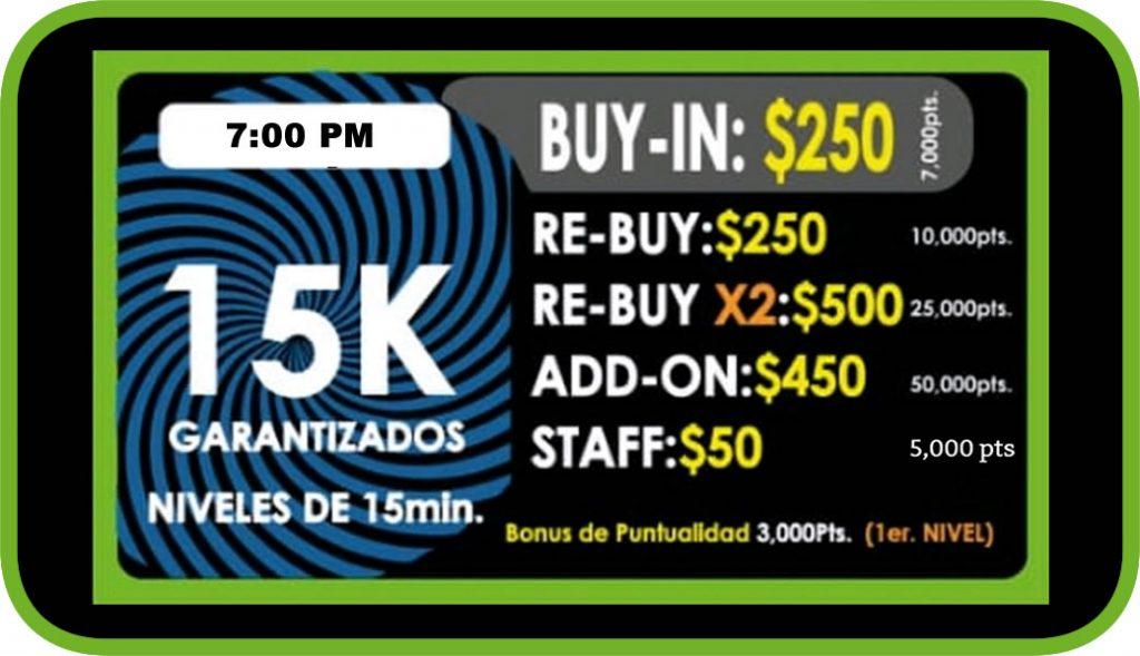 Ocean Poker 15k 7pm