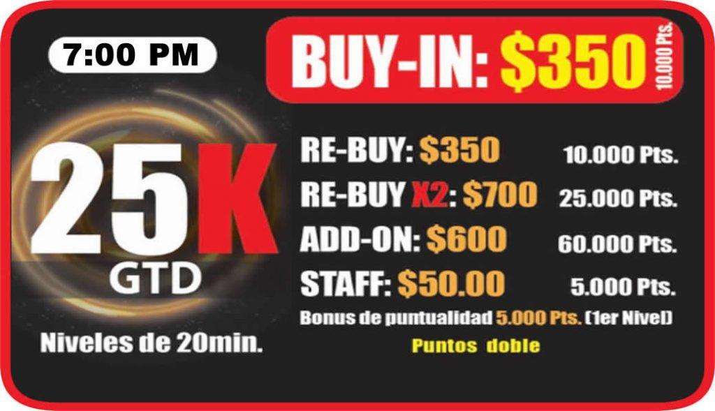 Ocean Poker Room 25k 7pm