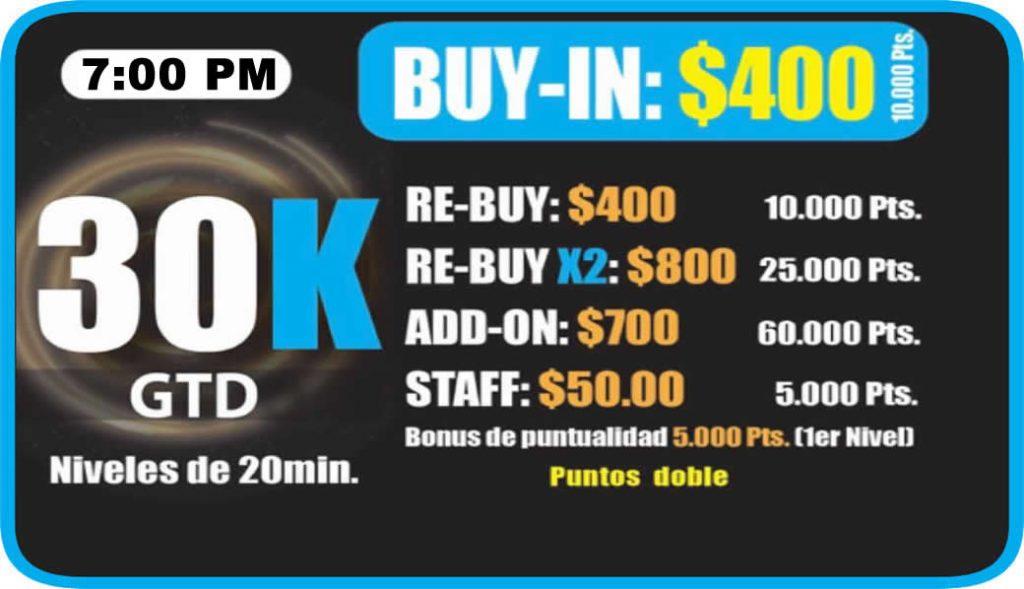 Ocean Poker Room 30k 7pm