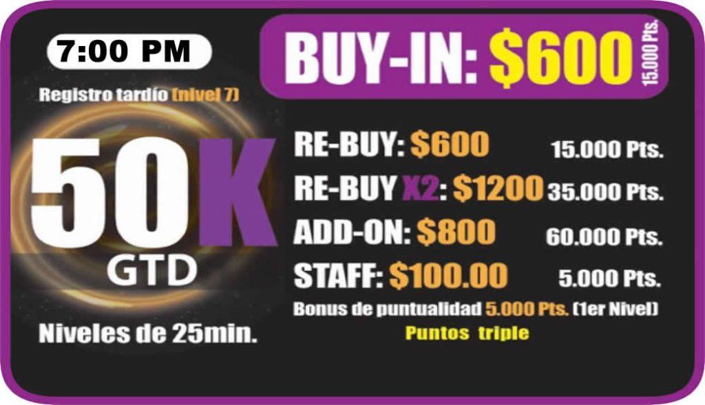 Ocean Poker Room 50k 7pm